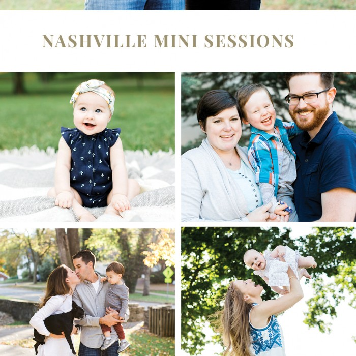 2015 Nashville Mini Sessions