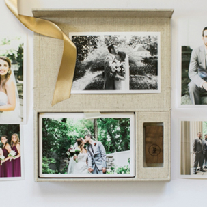 Ryan + Ginger: Heirloom Box and Heirloom Book