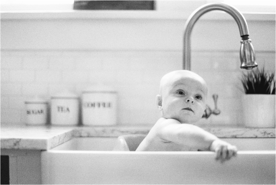 Lifestyle family film bathtub photos by Charlottesville Richmond Virginia Family Photographer, Amy Nicole Photography_0062