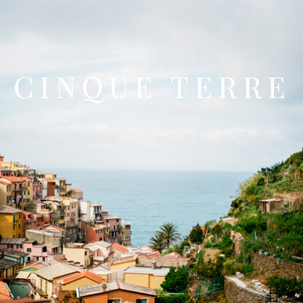 The Cherry Trek: Cinque Terre
