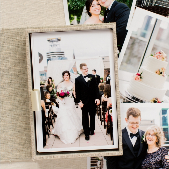 Angela & Geremiha: Wedding Heirloom Book