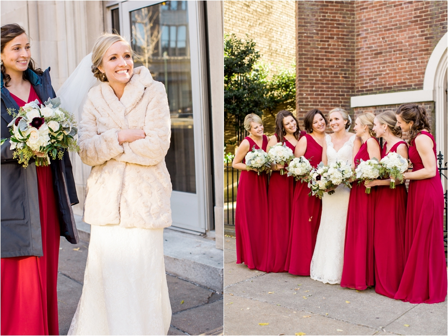 richmond winter wedding at hotel john marshall by charlottesville wedding photographer, amy nicole photography_0068