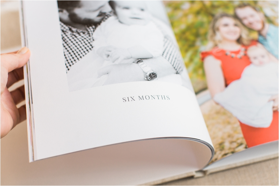 baby's first year photo heirloom book by charlottesville family photographer, amy nicole photography_0004