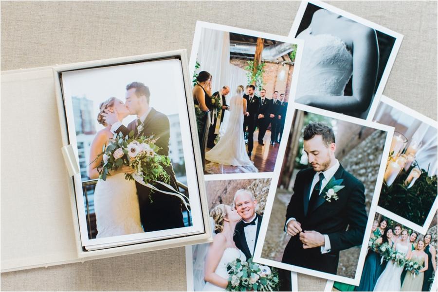 nashville urban industrial wedding heirloom box of prints by charlottesville wedding photographer, amy nicole photography_0031