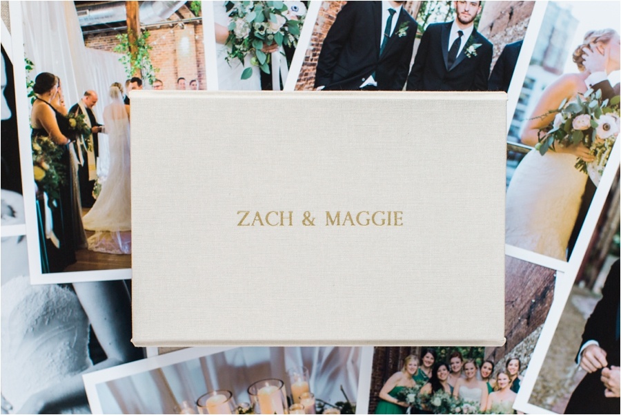 nashville urban industrial wedding heirloom box of prints by charlottesville wedding photographer, amy nicole photography_0035