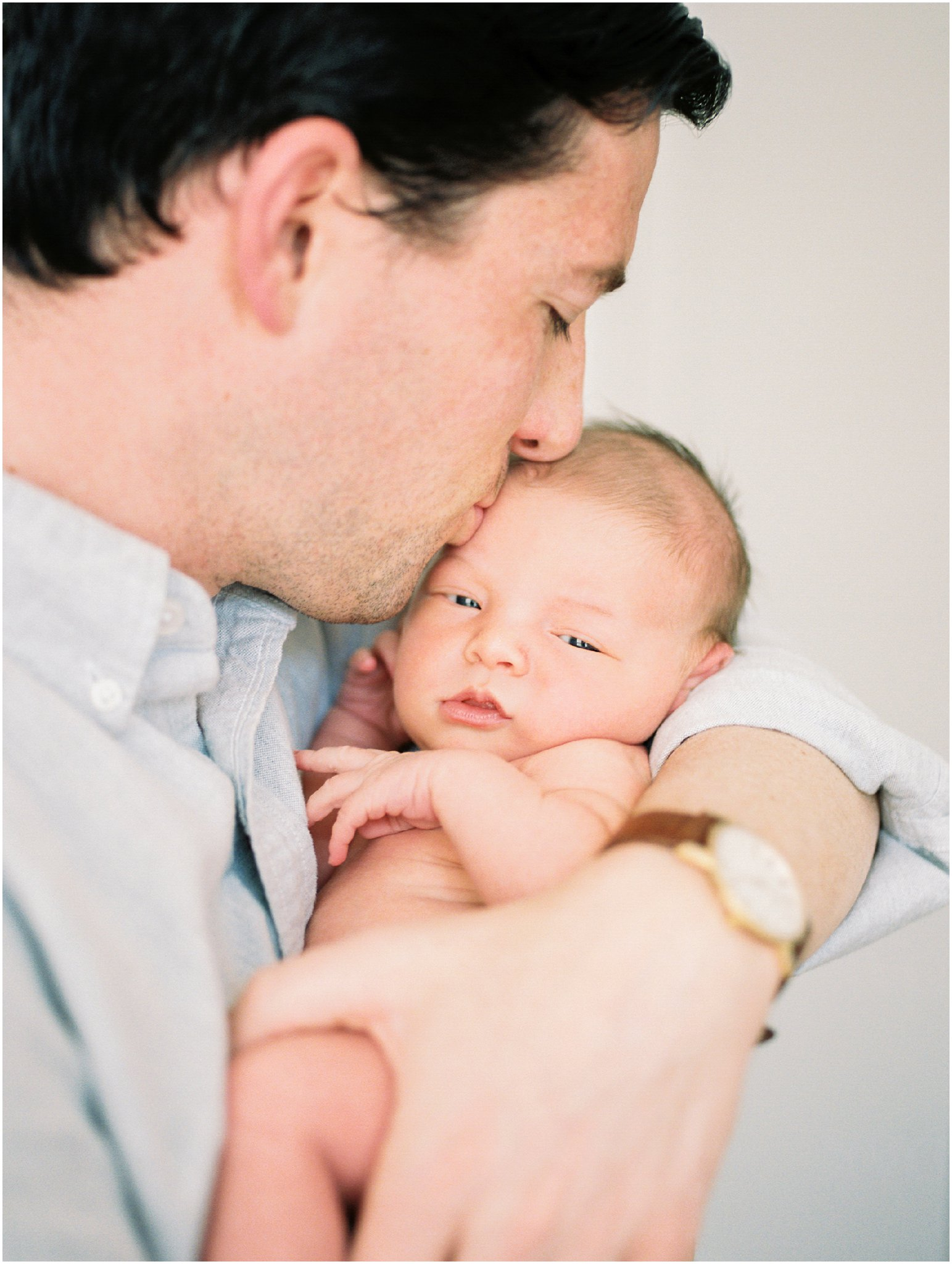 charlottesville in-home newborn session on film by charlottesville newborn & family photographer, amy nicole photography_0006