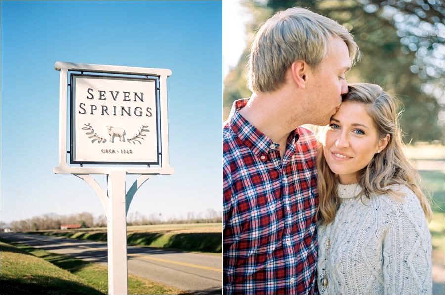 spring engagement session at seven springs richmond virginia by charlottesville wedding photographer, amy nicole photography_0003
