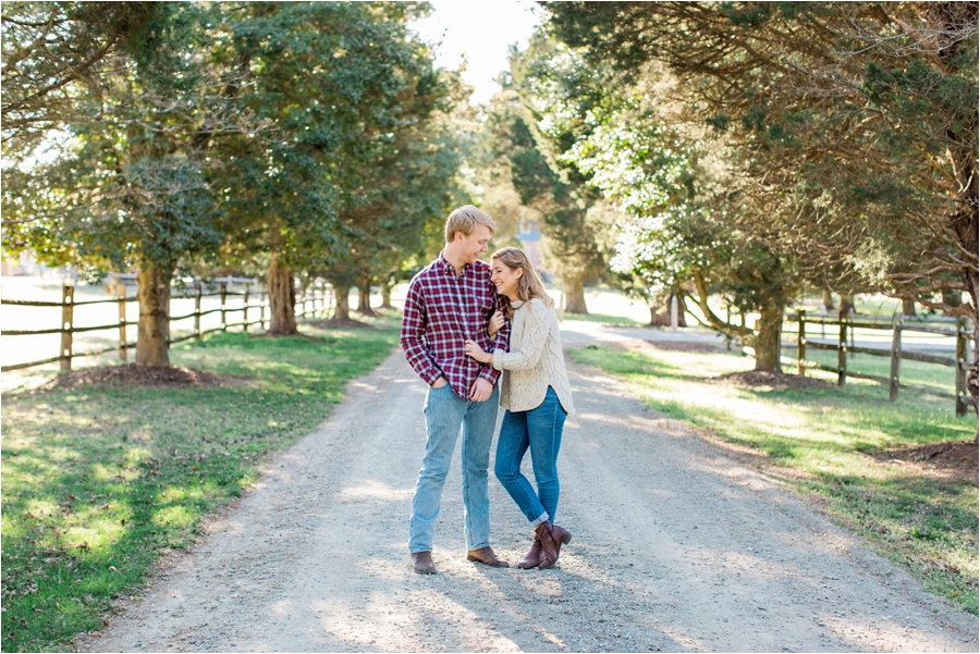 spring engagement session at seven springs richmond virginia by charlottesville wedding photographer, amy nicole photography_0004