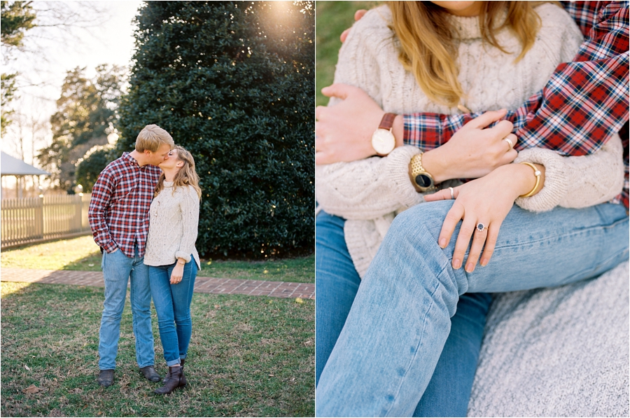 spring engagement session at seven springs richmond virginia by charlottesville wedding photographer, amy nicole photography_0007