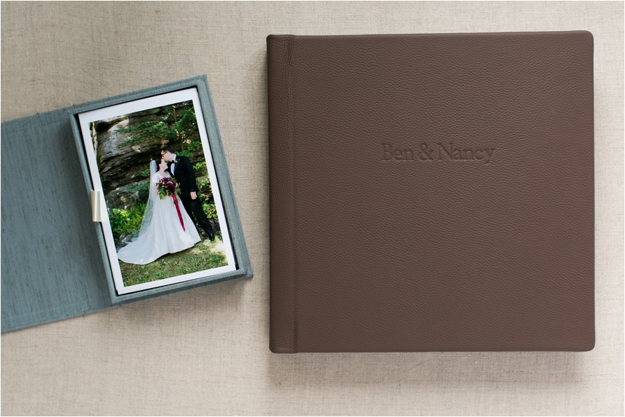 wedding heirloom album and heirloom box by charlottesville wedding photographer, amy nicole photography_0020