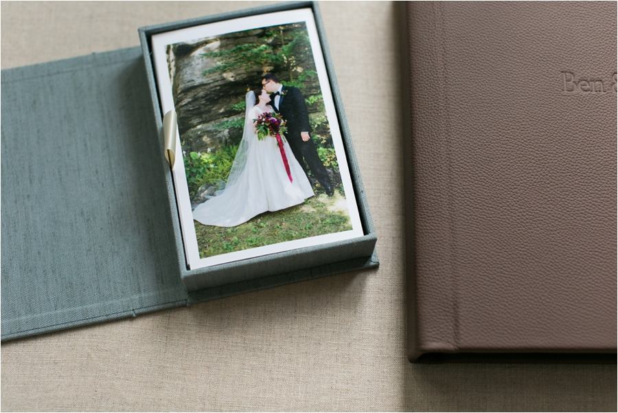 wedding heirloom album and heirloom box by charlottesville wedding photographer, amy nicole photography_0021
