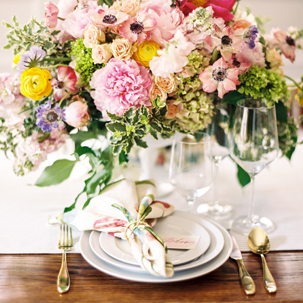 Mixing Colors & Patterns: Rehearsal Dinner Inspiration