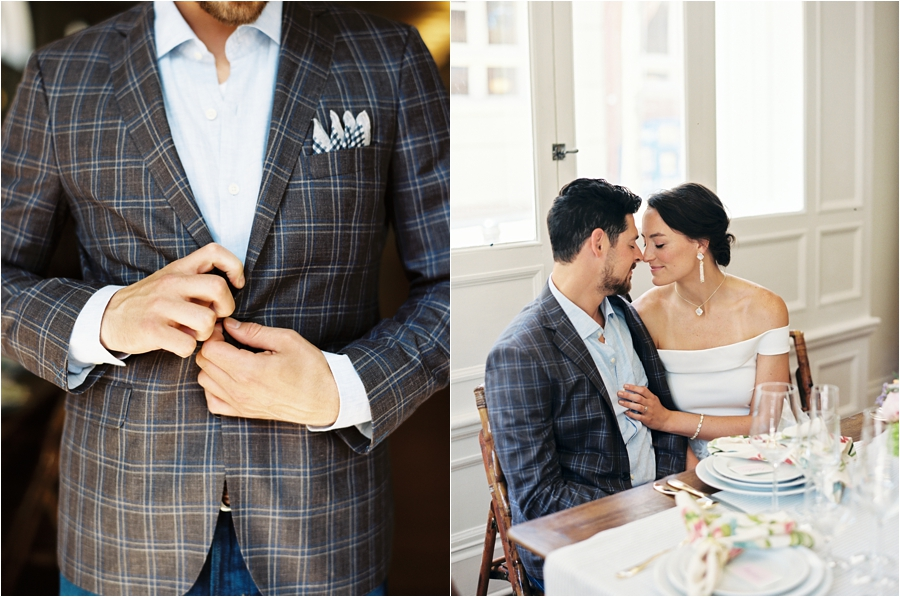 old metropolitan hall rehearsal dinner mixed patterns inspiration by charlottesville wedding photographer, amy nicole photography_0019