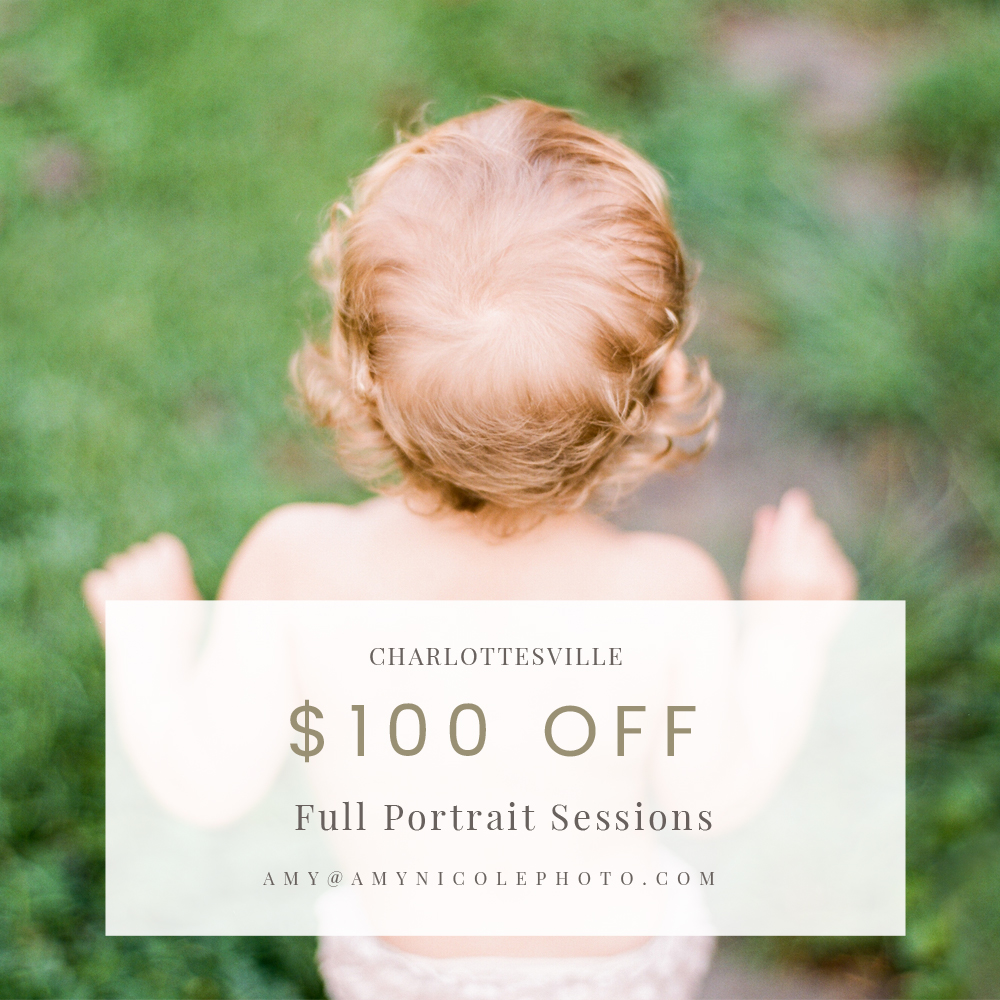 charlottesville fall family portrait discount