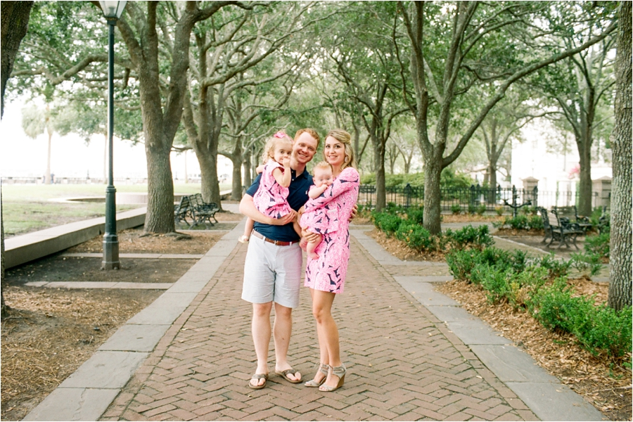 lilly pulitzer southern family session in charleston south carolina by charlottesville photographer, amy nicole photography_0004