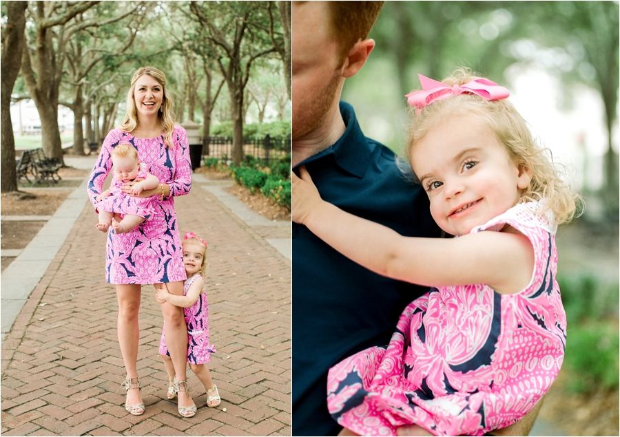 lilly pulitzer southern family session in charleston south carolina by charlottesville photographer, amy nicole photography_0006