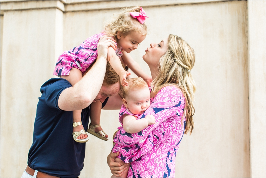 lilly pulitzer southern family session in charleston south carolina by charlottesville photographer, amy nicole photography_0011