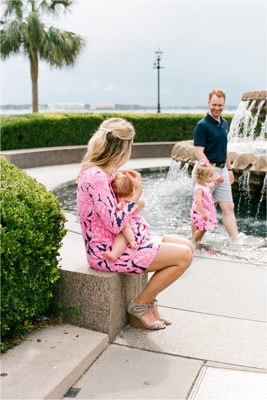 lilly pulitzer southern family session in charleston south carolina by charlottesville photographer, amy nicole photography_0016