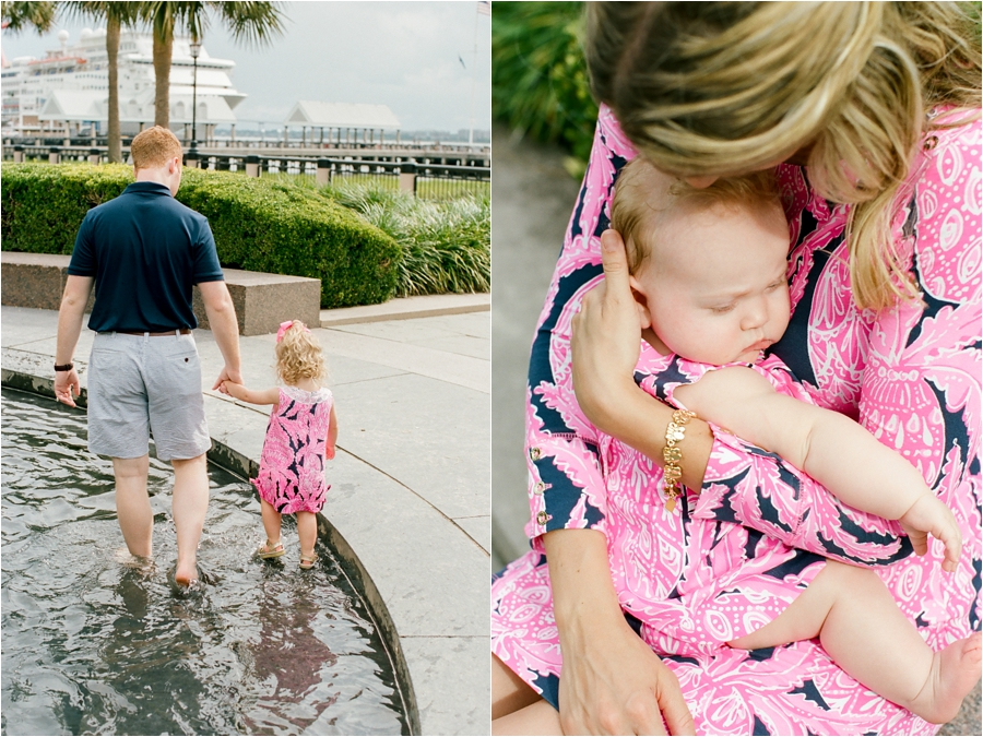 lilly pulitzer southern family session in charleston south carolina by charlottesville photographer, amy nicole photography_0017