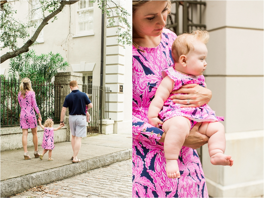 lilly pulitzer southern family session in charleston south carolina by charlottesville photographer, amy nicole photography_0019