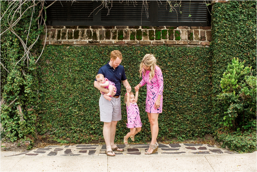 lilly pulitzer southern family session in charleston south carolina by charlottesville photographer, amy nicole photography_0021