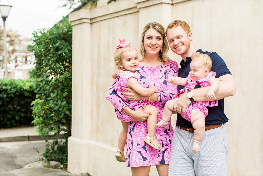 lilly pulitzer southern family session in charleston south carolina by charlottesville photographer, amy nicole photography_0022