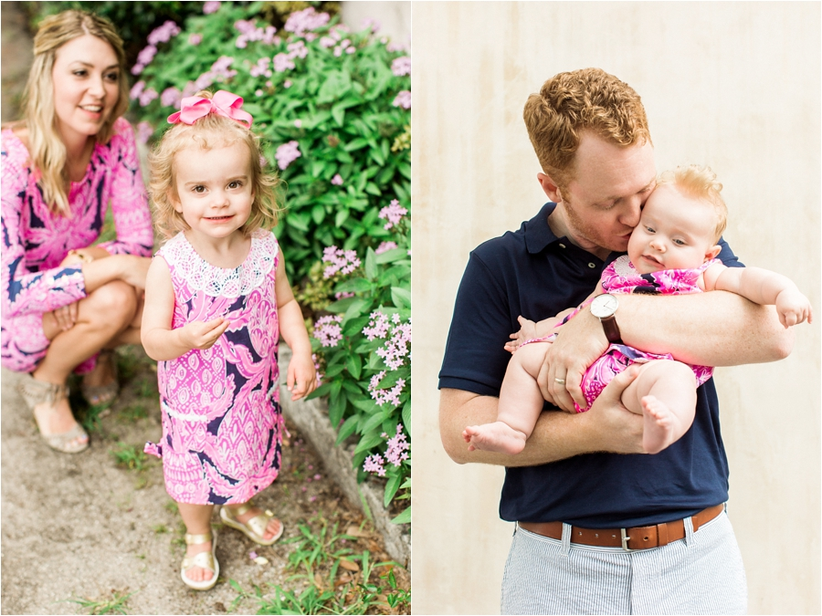 lilly pulitzer southern family session in charleston south carolina by charlottesville photographer, amy nicole photography_0026
