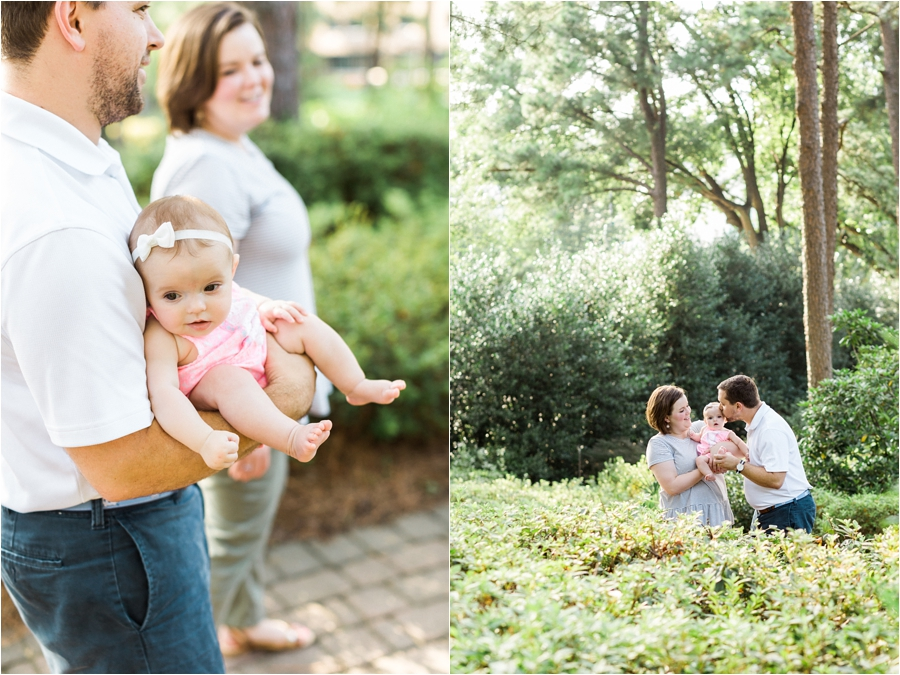 milestones baby 6 month session at garden in raleigh by charlottesville, va family photographer, amy nicole photography_0003