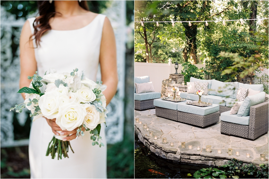 Sophisticated Southern Garden Wedding Annicka Amp Jake
