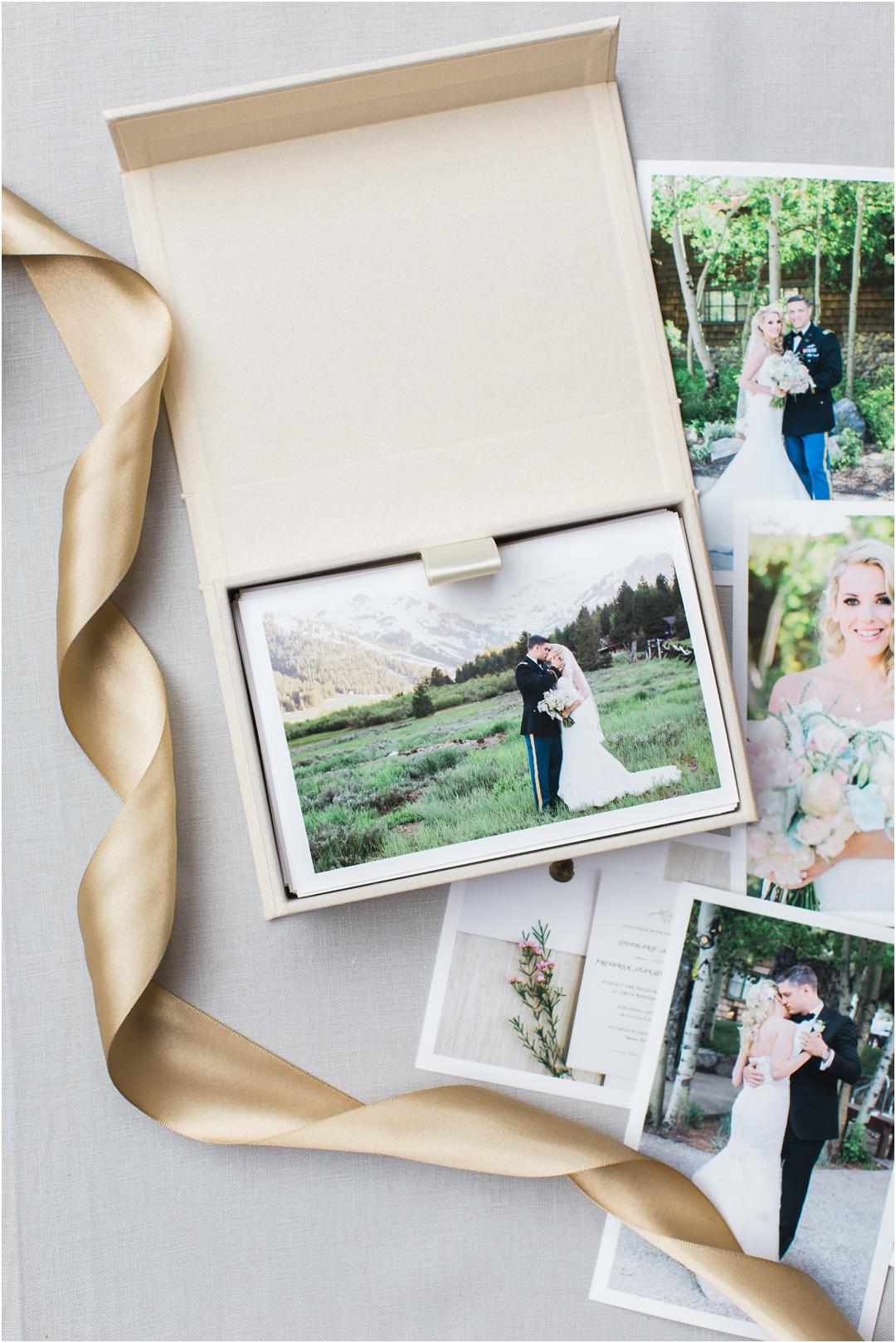 print packaging for wedding prints